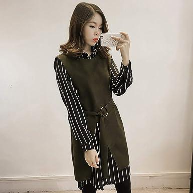 Delicacydex Korean Fashion Frauen Langarm Pullover Casual