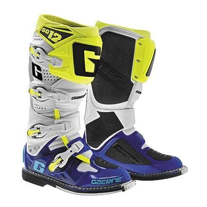 Amazon.com  Gaerne 2018 SG-12 LE Boots (7) (BLUE FLO YELLOW)  Automotive ac19ecb45e