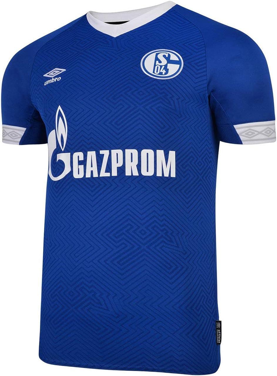 Umbro Men's International Soccer 18/19 Replica Jerseys, FC Schalke 04