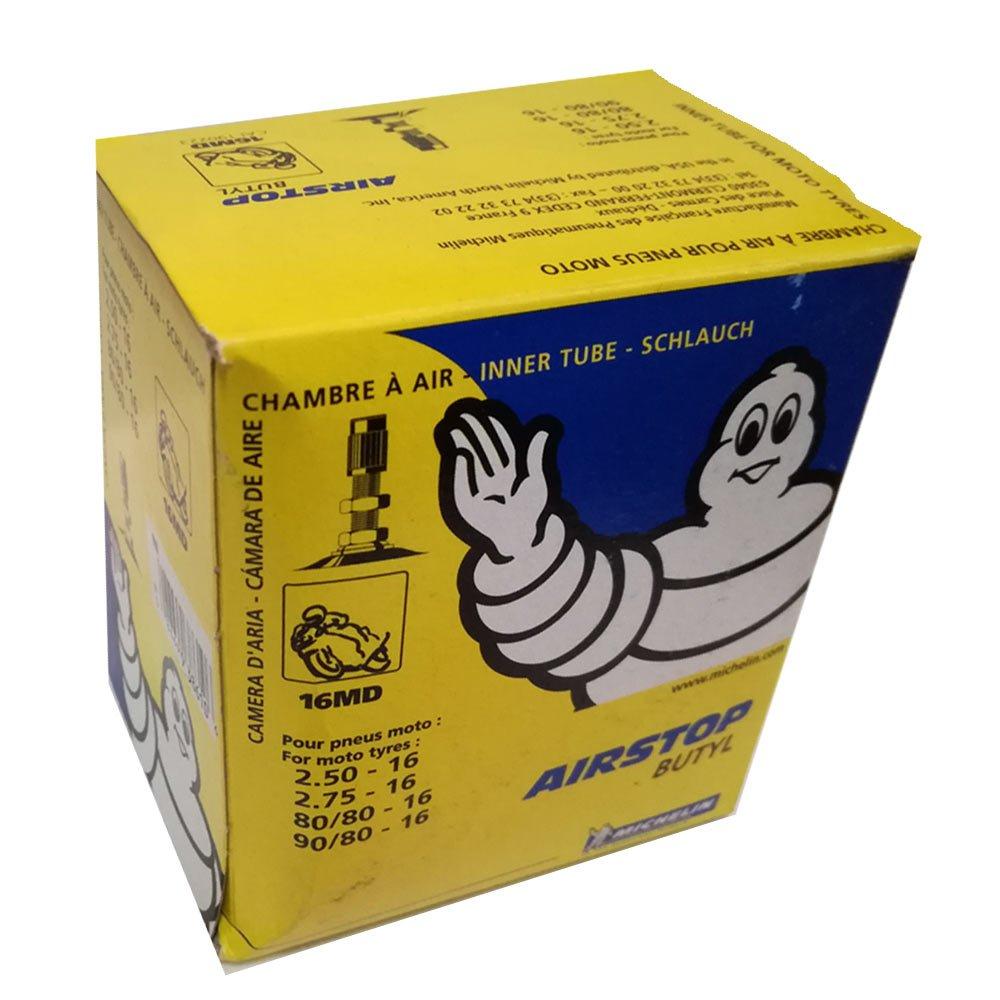 Camara de aire Michelin 16MD Valve TR4 (2.50-16, 2.75-16, 80/80-16, 90/80-16)