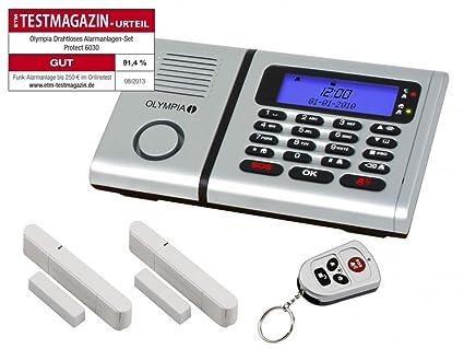 Olympia Protect - Alarma (con 2 sensores de movimiento, 1 sirena exterior)