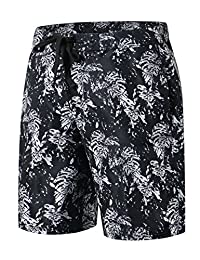 HUGE SPORTS Summer Shorts Beach Pocket Quick Dry Men's Board Shorts