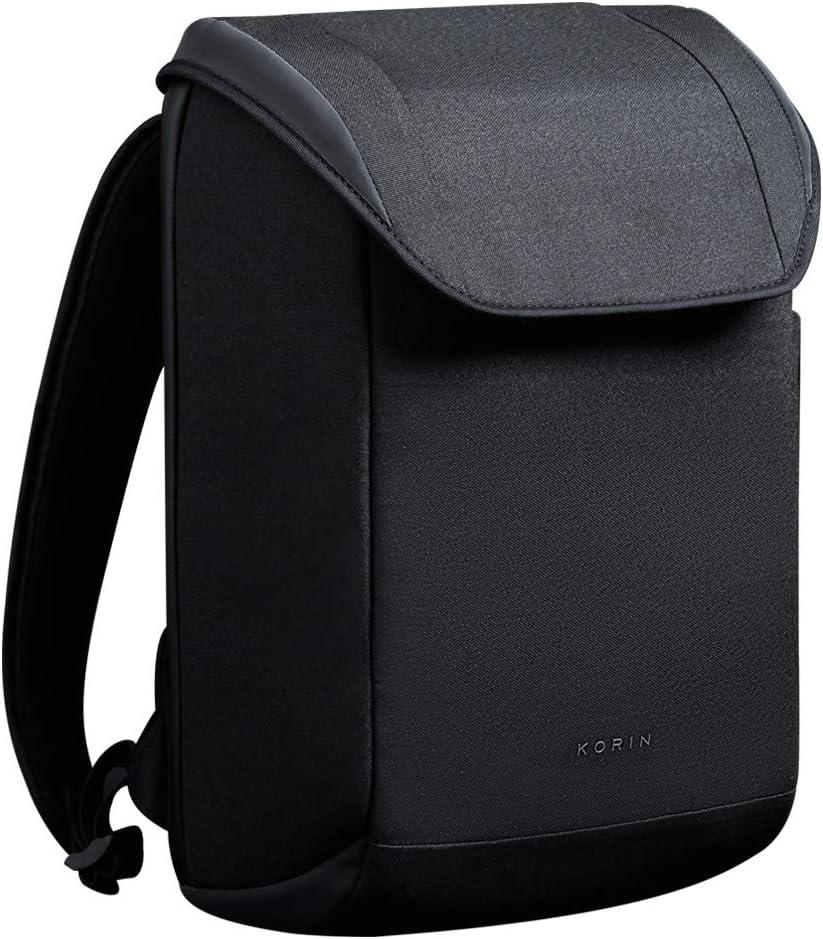 KORIN ClickPack X Minimalist Anti-Theft Backpack Travel Smart BackPack easy USB charging3.0 port Smart Storage 15.6 inch Laptop Bag