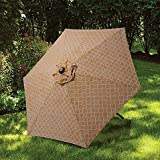 7.5-Foot Round Canopy Umbrella in Taupe Review