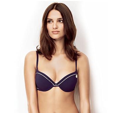 Haut de maillot de bain push up violet magic air Retro Riviera - Couleur - Violet, Taille - 95B