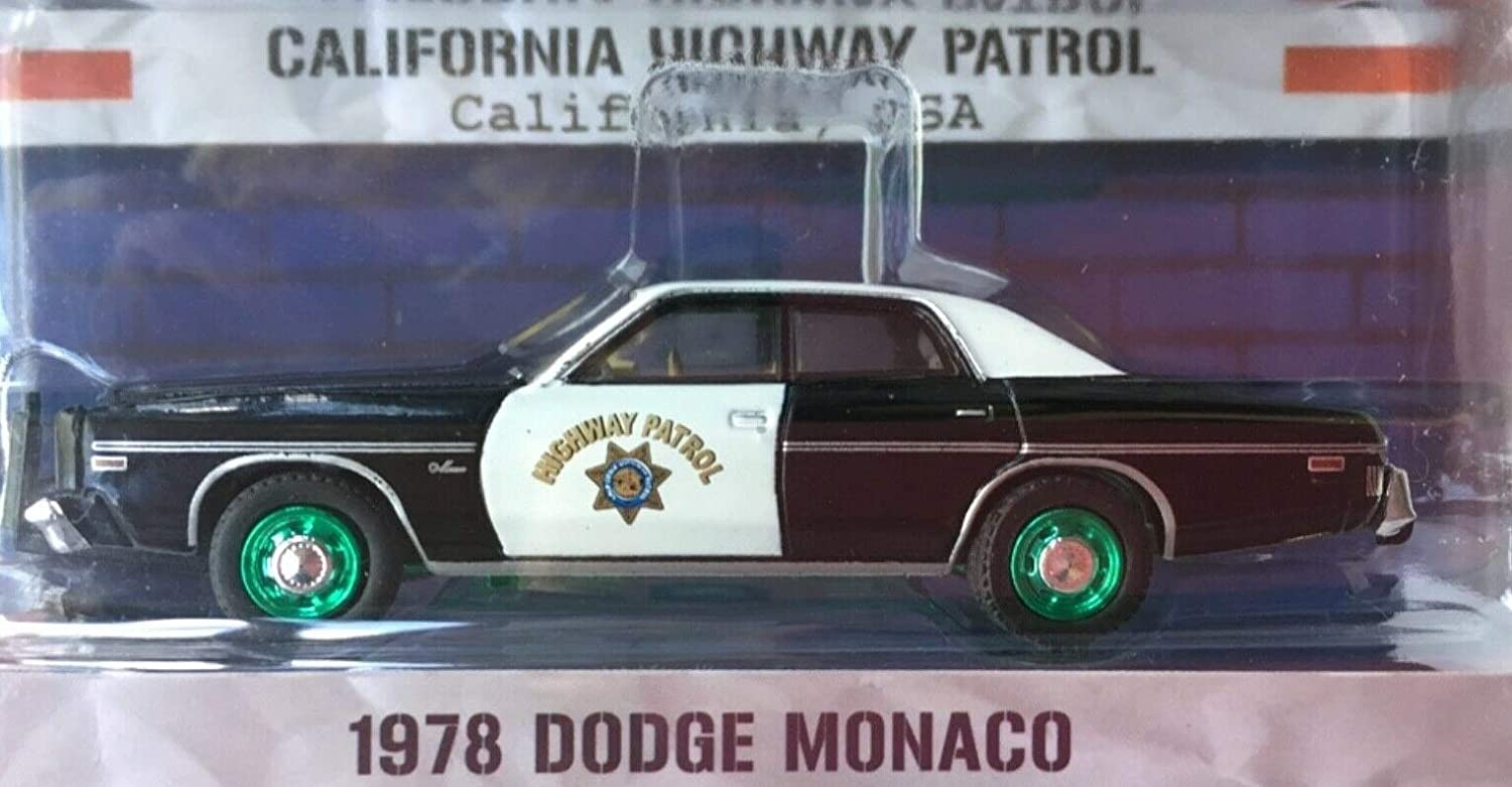 1974 Dodge Monaco California Highway Patrol Hot Pursuit Series 21 1//64 by Greenlight 42780 A CHP