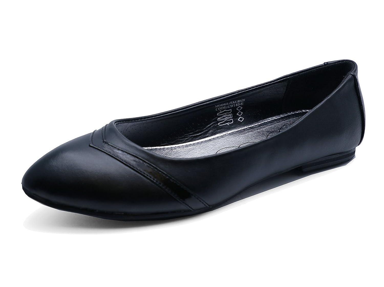 JUNIOR GIRLS BLACK SCHOOL SLIP-ON BALLERINA STRAP PUMPS KIDS SHOES SIZES 12-3