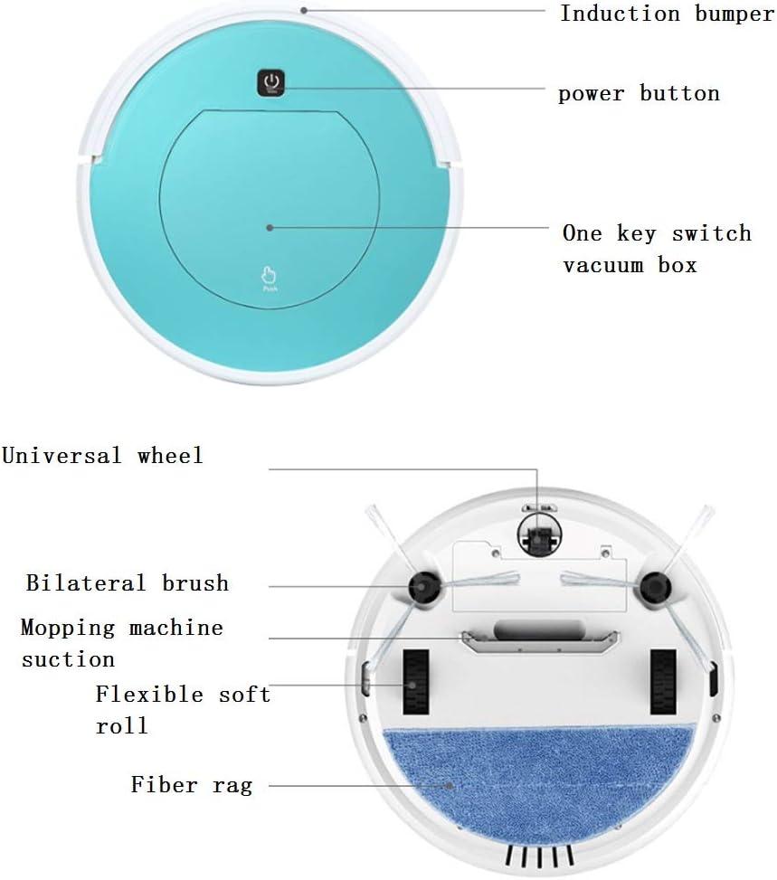 CHU Trois-en-Un Robot Automatique De Balayage pour La Maison Intelligente De Balayage Et en Faisant Glisser,1 3