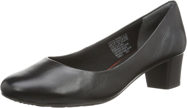 Rockport Tm45Mmmh Plain Pump - Zapatos de Cordones de Cuero Mujer