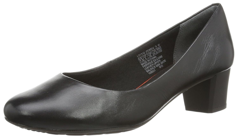 TALLA 39 EU. Rockport Tm45Mmmh Plain Pump - Zapatos de Cordones de Cuero Mujer