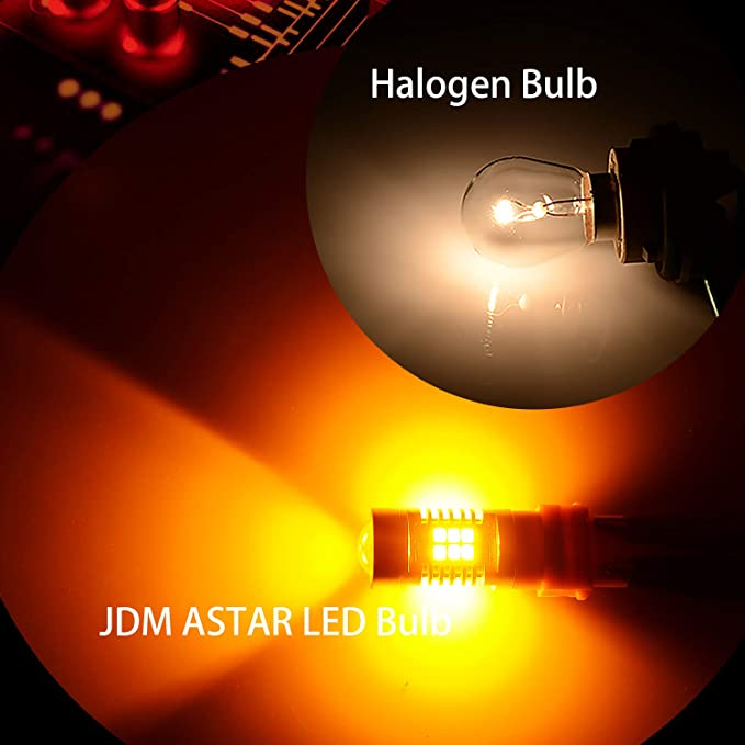 JDM ASTAR Gold Yellow T1 10000 Lumens Extremely Bright High Power 9005 All-in-One LED Headlight Bulbs Conversion Kit