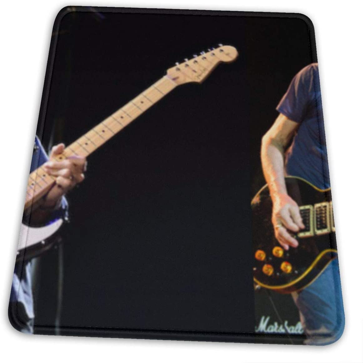 Precise Edging Clapton Green and Environmentally Friendly Close to The Table Without Deformation Mouse Pad 7 X 8.6 in Eric