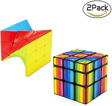 Bfull Juego de Cubos de Velocidad Completa, 3x3x3 Juego de Cubos ...