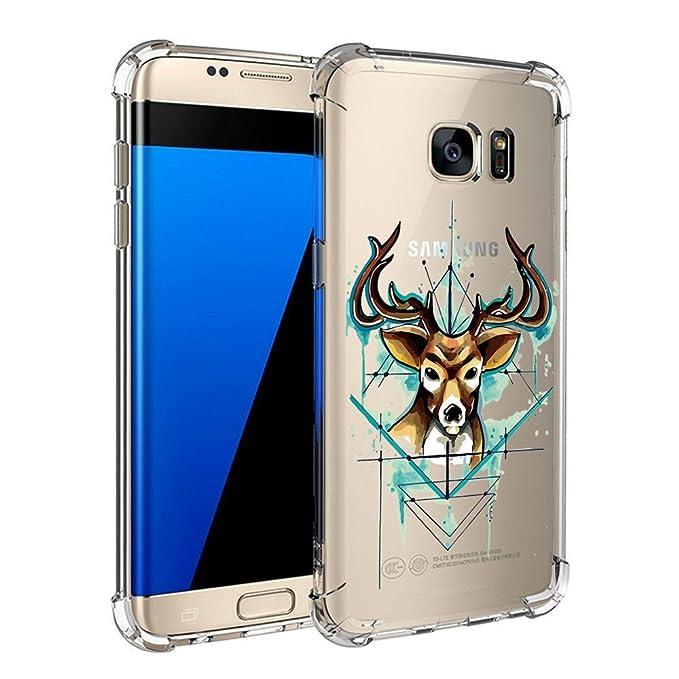 a1fdb799bc8 Funda Samsung Galaxy S6 Fundas Transparente Carcasas Silicona Case TPU  Flexible Caso para Samsung Galaxy S6