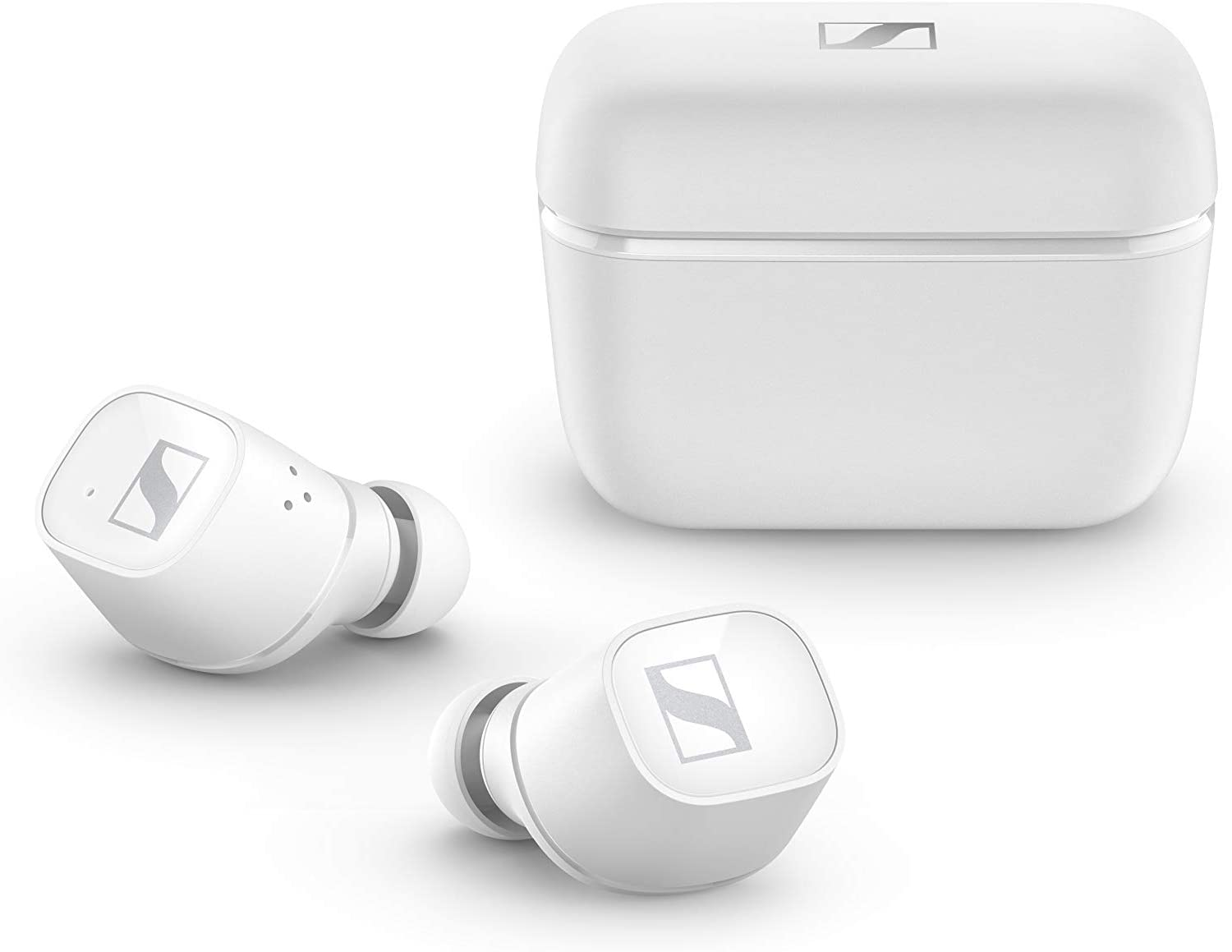Sennheiser CX 400BT True Wireless Earbuds - Bluetooth in-Ear Headphones for Music and Calls - with Long-Lasting Battery Life and Customizable Touch Controls, White