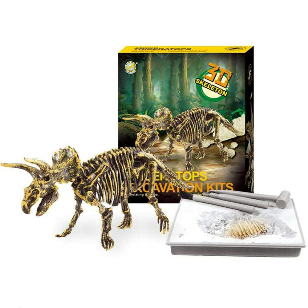 Dinosaur Dig Kit Archeology Kids Dino Toy Fossils Paleontology Skeleton Science