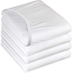 TL Care Health, Fitted Hospital Bed Sheet, Cotton/Poly Blend, for Medical or Home Care, 84