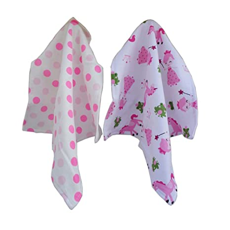 CuteOn 2 paquetes Bebé Pequeña Toallitas Reutilizable Toallitas para Sensible Piel, Bebé Ducha Regalos -