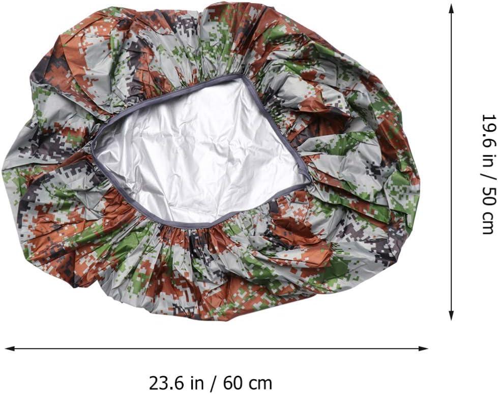 LIOOBO Backpack Waterproof Cover Camo Rucksack Rain Cover Rainproof Snowproof Dustproof Covers Camouflage XS