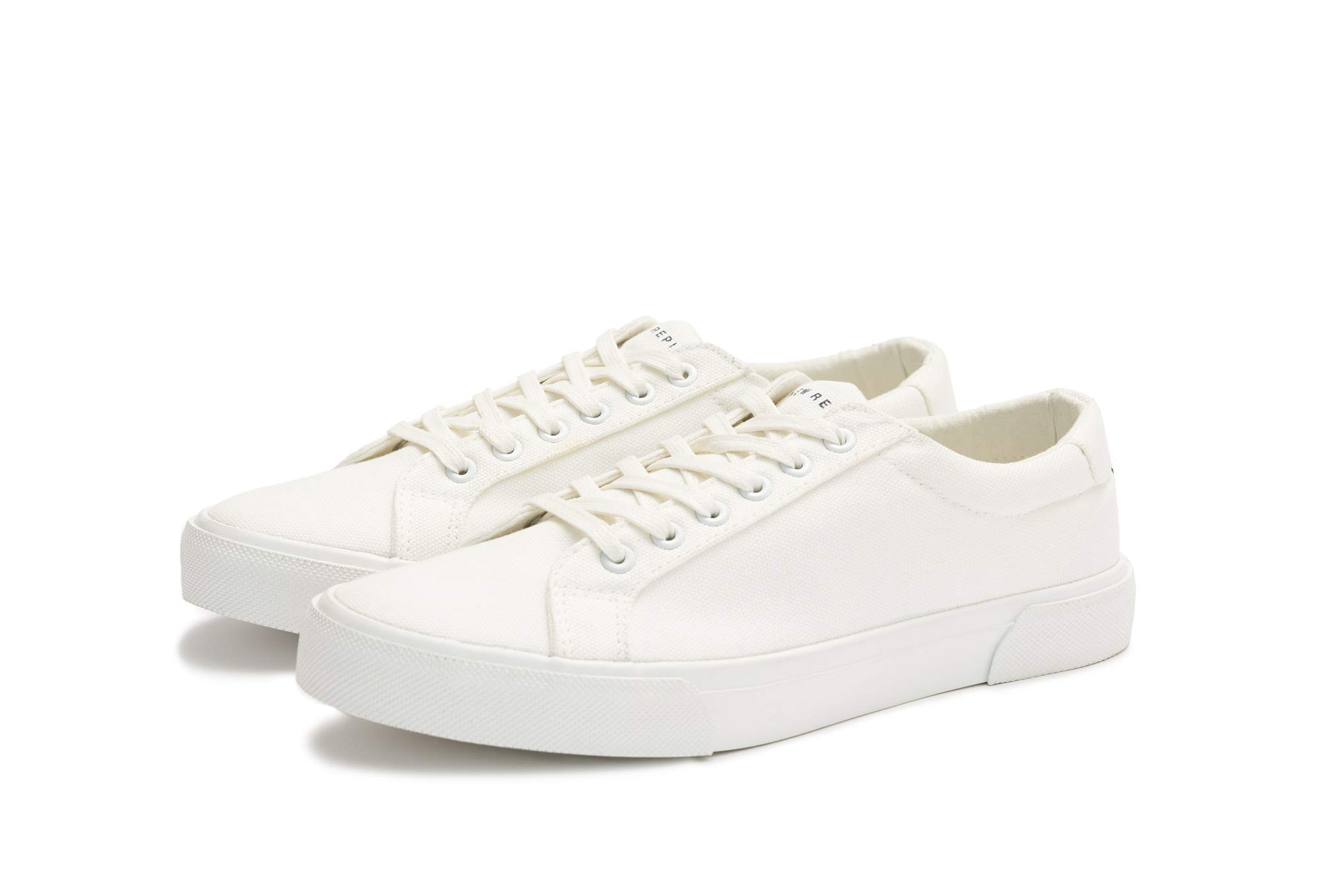 New Republic Men's Ellroy Canvas Sneaker - White (10.5)