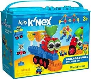 K'Nex Kid - Railroad Pals Building Set