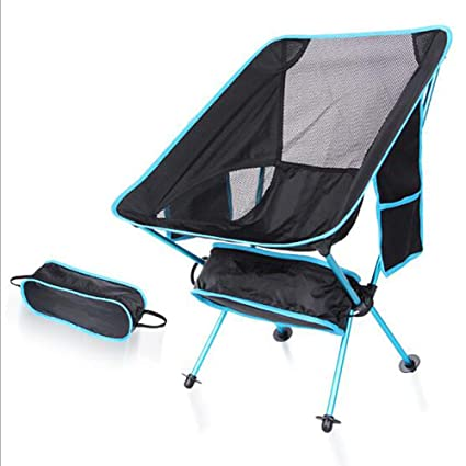 MALY Silla Plegable para Acampar al Aire Libre, Silla Ultra ...