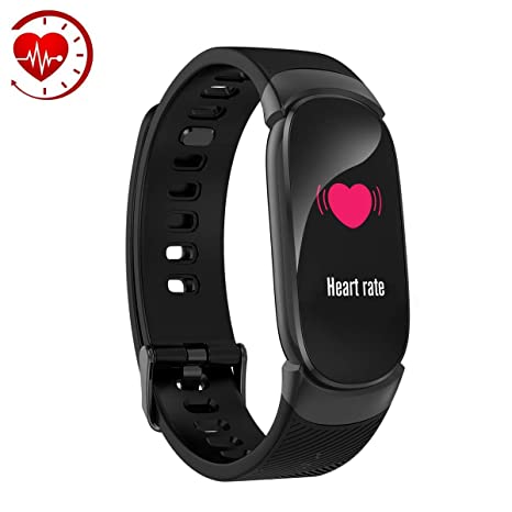 Amazon.com : AFITNESS Waterproof IP68 Fitness Tracker Watch ...