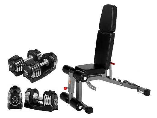 Combo Oferta XMark Fitness Inclinación Plana Decline Abversa Peso ...