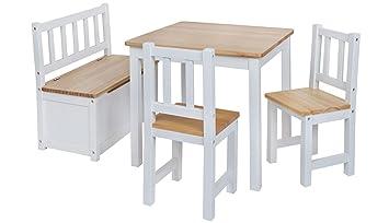 Original IMPAG® Kinder-Sitzgruppe | Großes Kinderzimmer Set 1 Tisch ...
