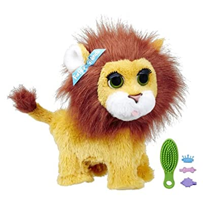 FurReal Friends Roarin' My Bouncin' Lion: Toys & Games