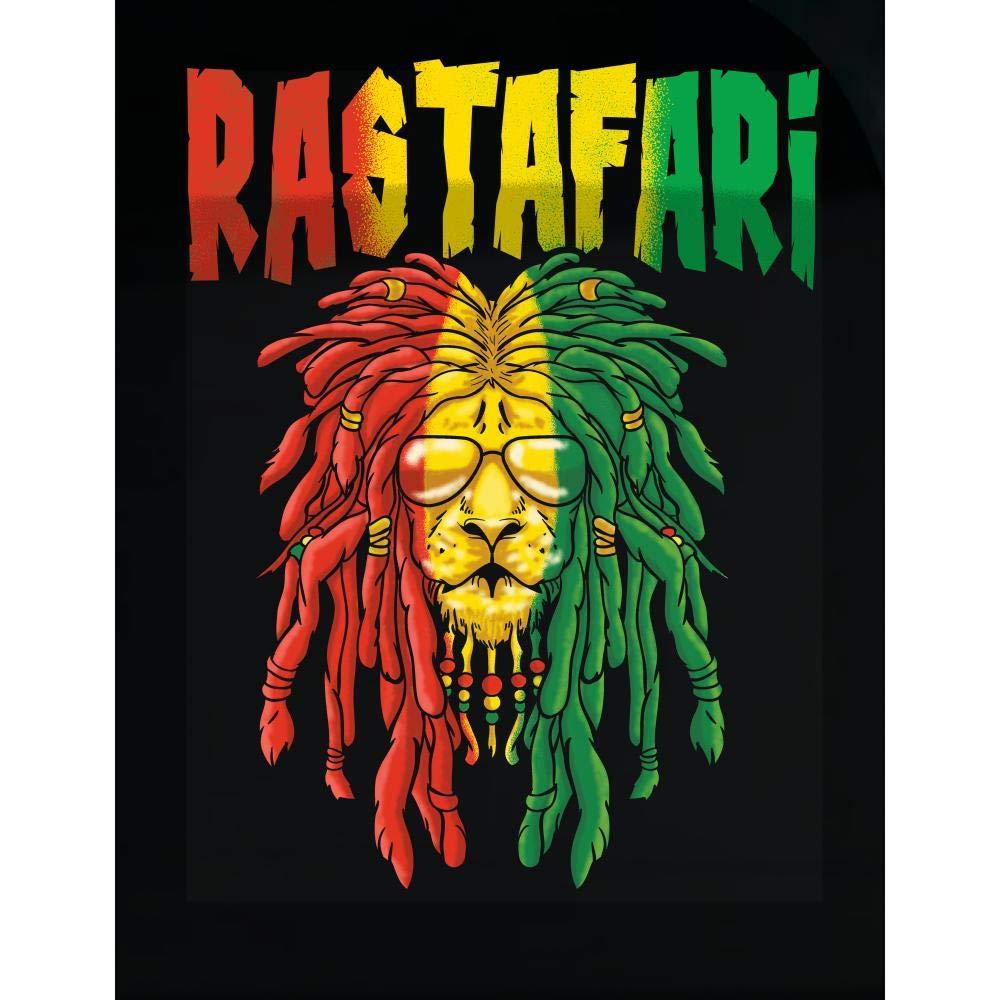 Amazon com rasta lion of judah gift for rastafarian transparent sticker home kitchen