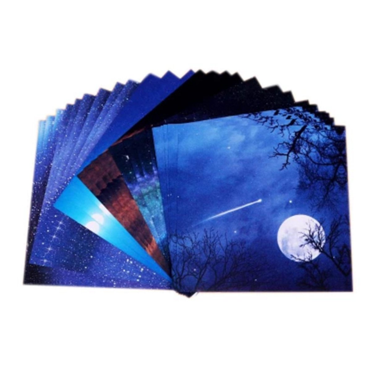 280 Sheets Beautiful Sky Origami Paper Square Folding Paper for Arts and Crafts 6 inch by 6 inch, 10 Different Patterns