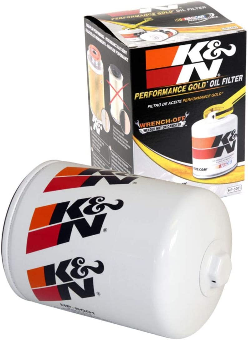K&N Premium Racing Oil Filter: Designed to Protect your Engine: HP-5001
