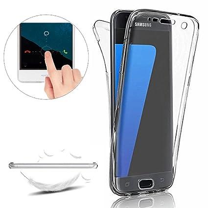 Funda Samsung Galaxy A3 2016 (A310),Carcasas [Nueva Versión] Samsung Galaxy A3 2016 (A310) [Cover 360 Grados] ,Funda Doble Delantera + Trasera Gel ...