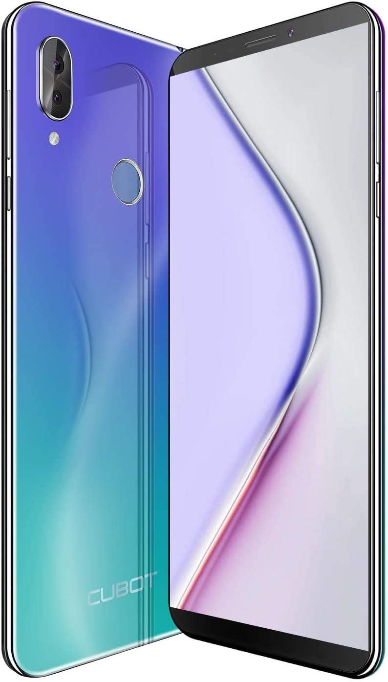 X19 CUBOT 4G Smartphone Libre 2019 Android 9.0 Teléfono móvil sin ...