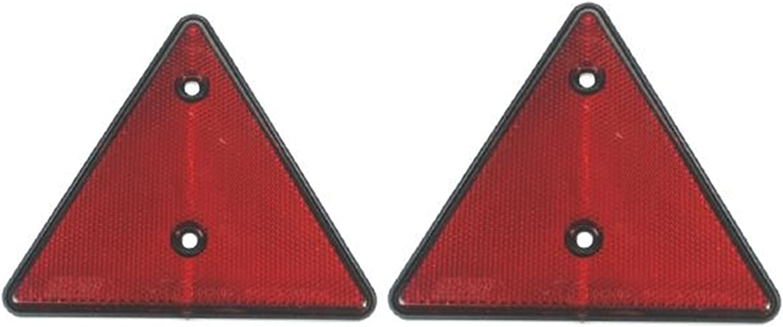 Dreiecks-Reflektoren f/ür Wohnwagen 2 St/ück LMX1660 Anh/änger