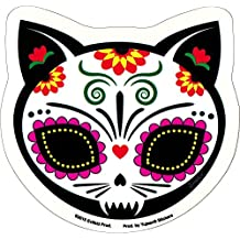 Gato Muerto Cat Sugar Skull Sticker / Decal