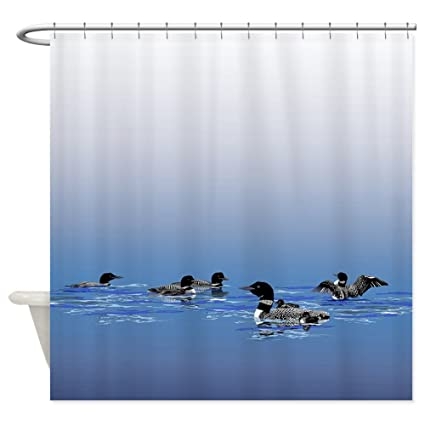 CafePress Loon Shower Curtain Decorative Fabric 69quot