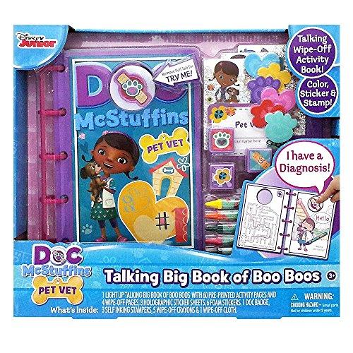 (Tara Toy Doc McStuffins Talking Big Book of Boo Boo's Activity)