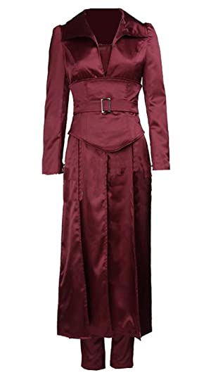 Amazon com: X-Men The Phoenix Costume Jean Grey Reddish Satin Outfit