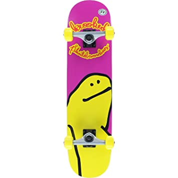 KROOKED Skateboards Shmoo Mid Complete Skateboards - 7.5