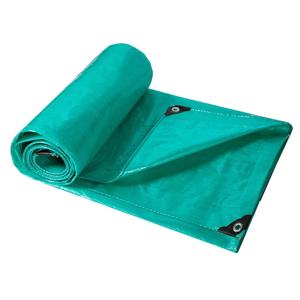 HQCC Heavy Duty Wasserdichte Plane verdicken grüne Plane Blatt deckt regendichte Plane Schuppen Tuch Zelt Spleiß (größe   8x10m)