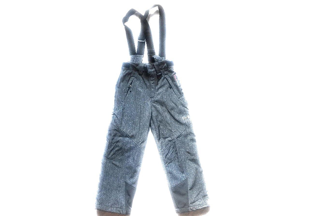 Weatherproof 32 Degrees Micro Fleece Lined Softshell Ski YKK Zippper-Off Pant With Detachable Suspender Black)