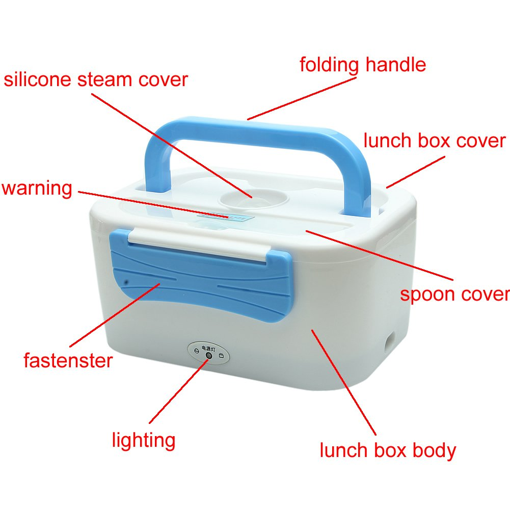 Amazon.com: Delight eShop Electric Heated Portable Compact FOOD ...