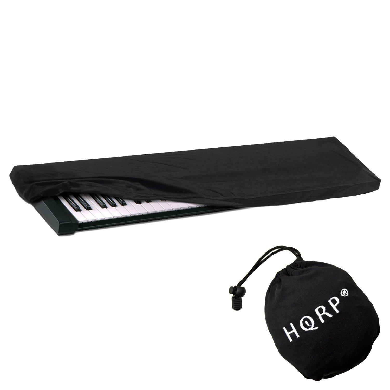 HQRP Funda antipolvo, cubierta para Yamaha teclado de 61-76-teclas NP-V80 / NPV80 / PSR-E403 / PSRE403 / PSR-E353 / PSRE353 / PSR-E253 / PSRE253 / PSR-E443 ...