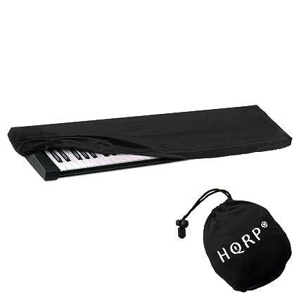 HQRP Funda antipolvo, cubierta para Yamaha teclado de 61-76-teclas NP-