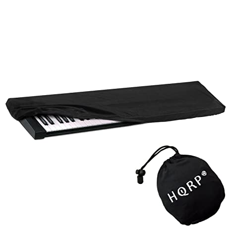 HQRP Funda antipolvo, cubierta para Yamaha teclado de 61-76-teclas NP-V80 / NPV80 / PSR-E403 / PSRE403 / PSR-E353 / PSRE353 / PSR-E253 / PSRE253 / ...