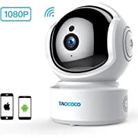 Taococo 1080p Wireless IP Security Camera/Baby Monitor
