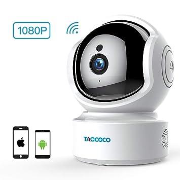 Amazon.com: Cámara inalámbrica 1080P WiFi IP Cámara de ...