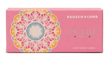 fee2c5445ea Buy Bausch   Lomb Lacelle Circle Yearly Color Contact Lens (Grey ...